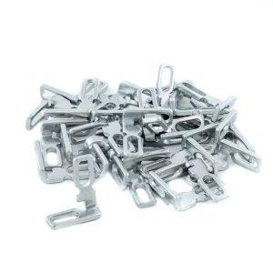 L-twisted adjustable bracket