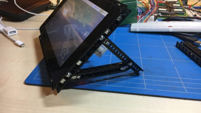 Frame for Raspberry Pi 3 B with Touchscreen